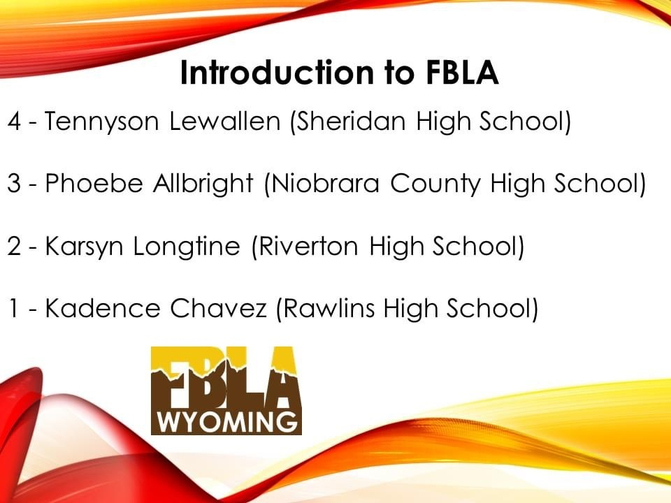 FBLA National Qualifier in Introduction to FBLA-Freshman/Phoebe Allbright